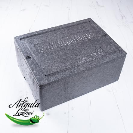 Caja de EPS para transporte de piparra fresca